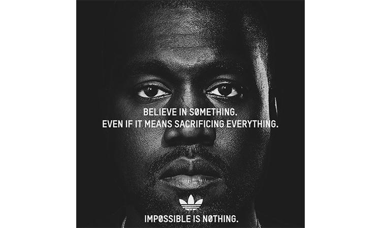 "如果把 Nike ""Just Do It"" 30 周年广告主角换成 Kanye…"