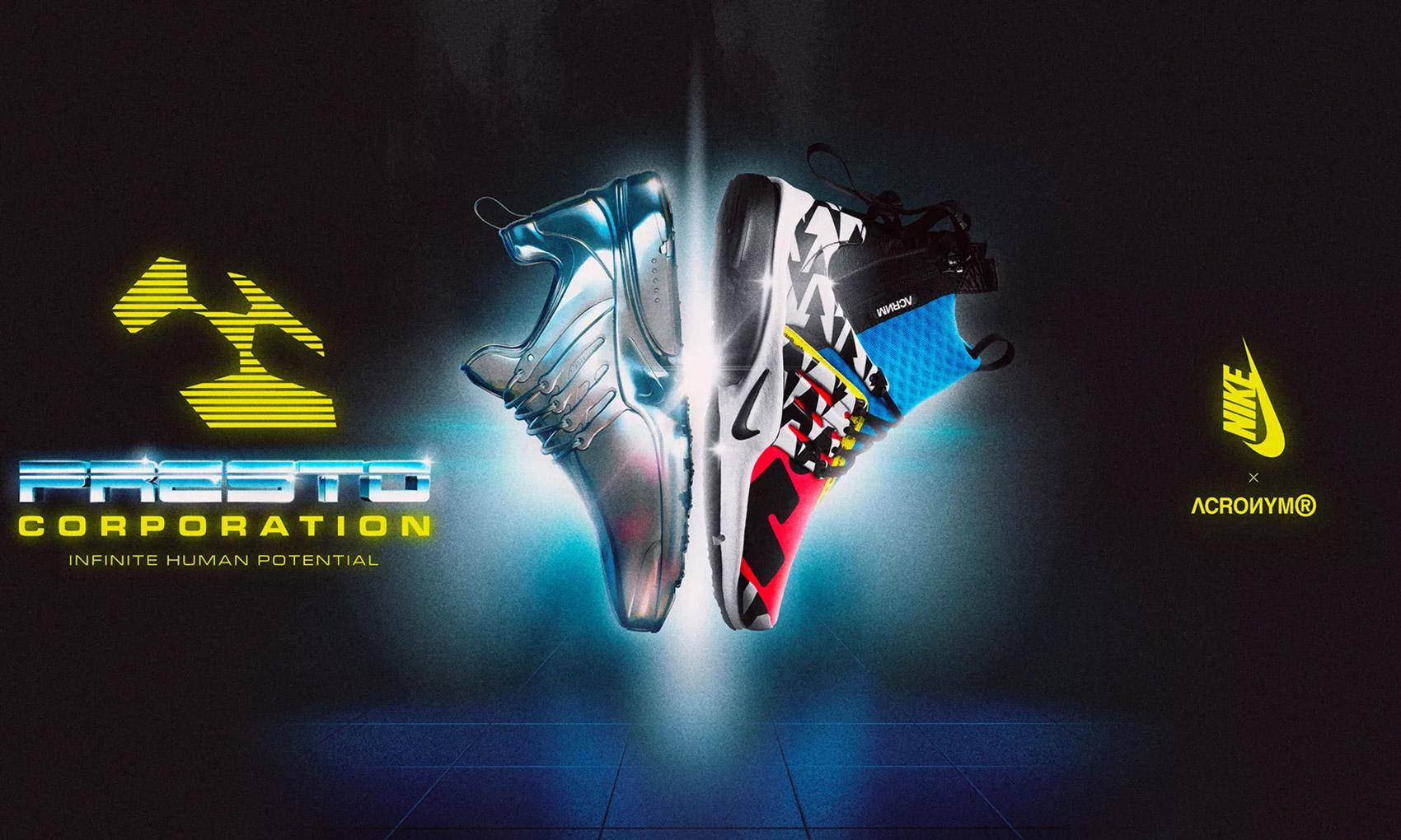 ACRONYM® x NikeLab Air Presto Mid 即将登陆 INVINCIBLE 上海店同步发售