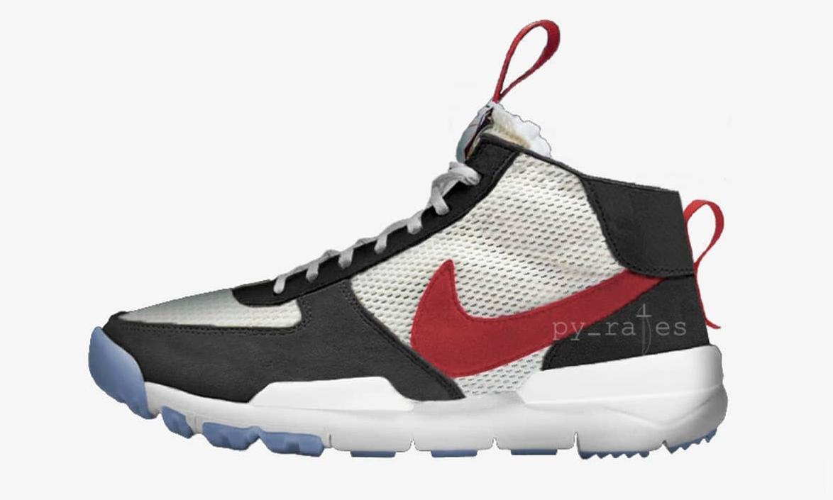 官方售价已经起飞!Tom Sachs x Nike Mars Yard Over Shoe 发售信息曝光