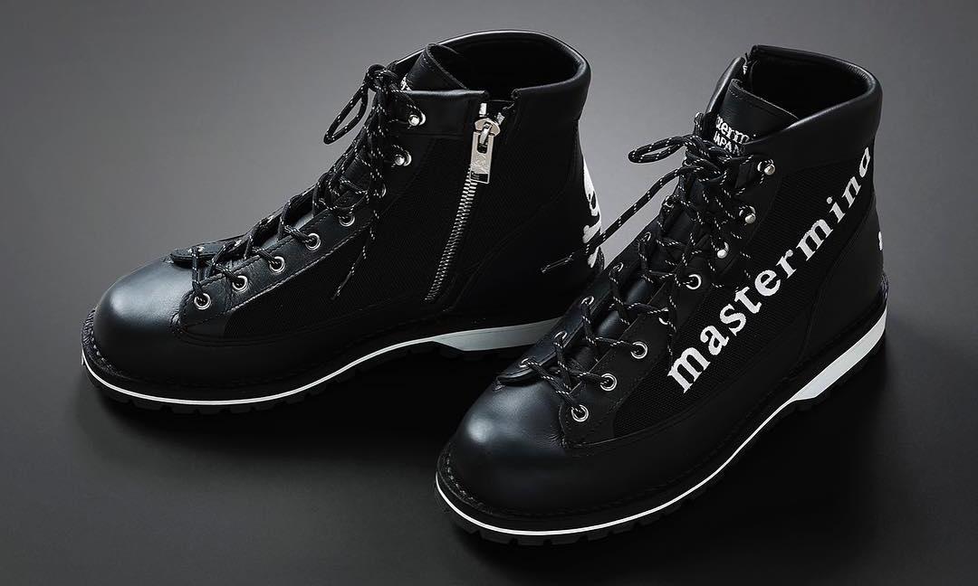 mastermind JAPAN x Danner 联名登山靴即将发售