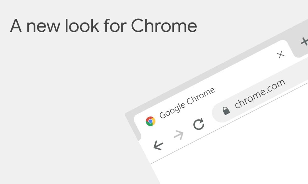Google Chrome 浏览器新版本发布,界面大更新