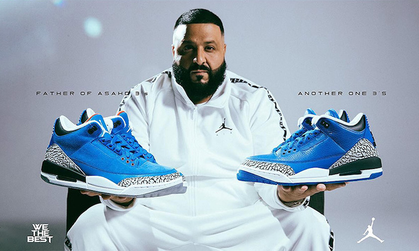 两款 DJ Khaled x Air Jordan III 正式公布