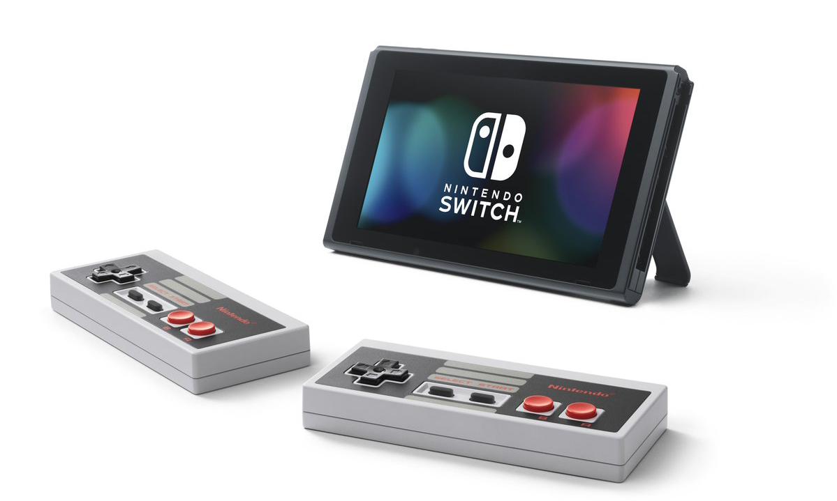 情怀满分,Nintendo 推出 Switch 专用 NES/FC 手柄