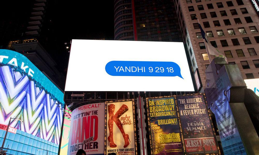 """继 """"我们爱"""" 之后,Kanye 再次广而告之地预告《YANDHI》的到来"""