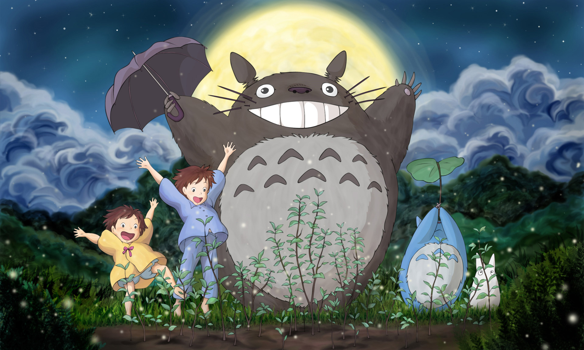 宫崎骏动画《龙猫》重置版将于年底上映