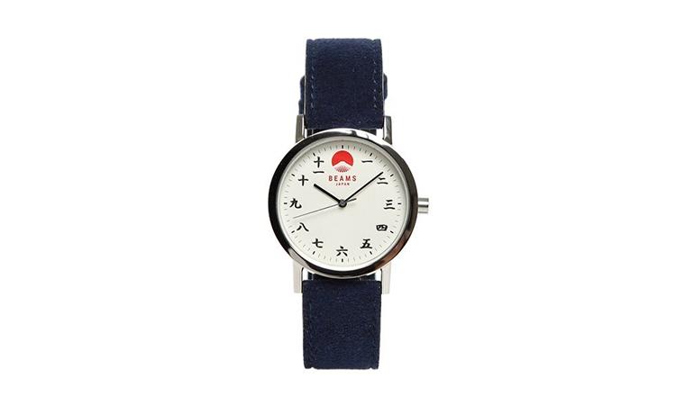 用汉字代替数字,BEAMS 推出自家 2018 新款手表