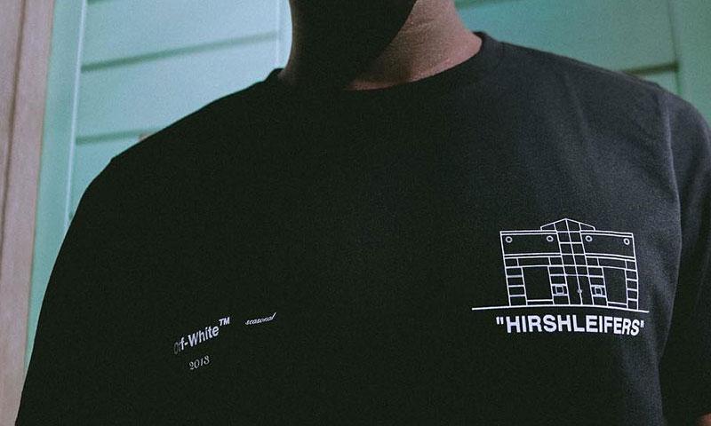 "Off-White™ x Hirshleifers 推出胶囊系列 ""BEDROOM"""