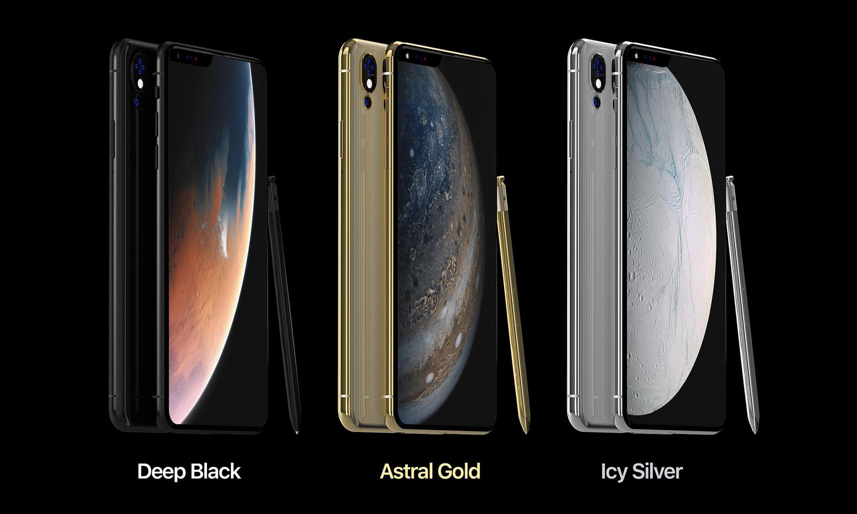如果下一代苹果 iPhone 长这样…