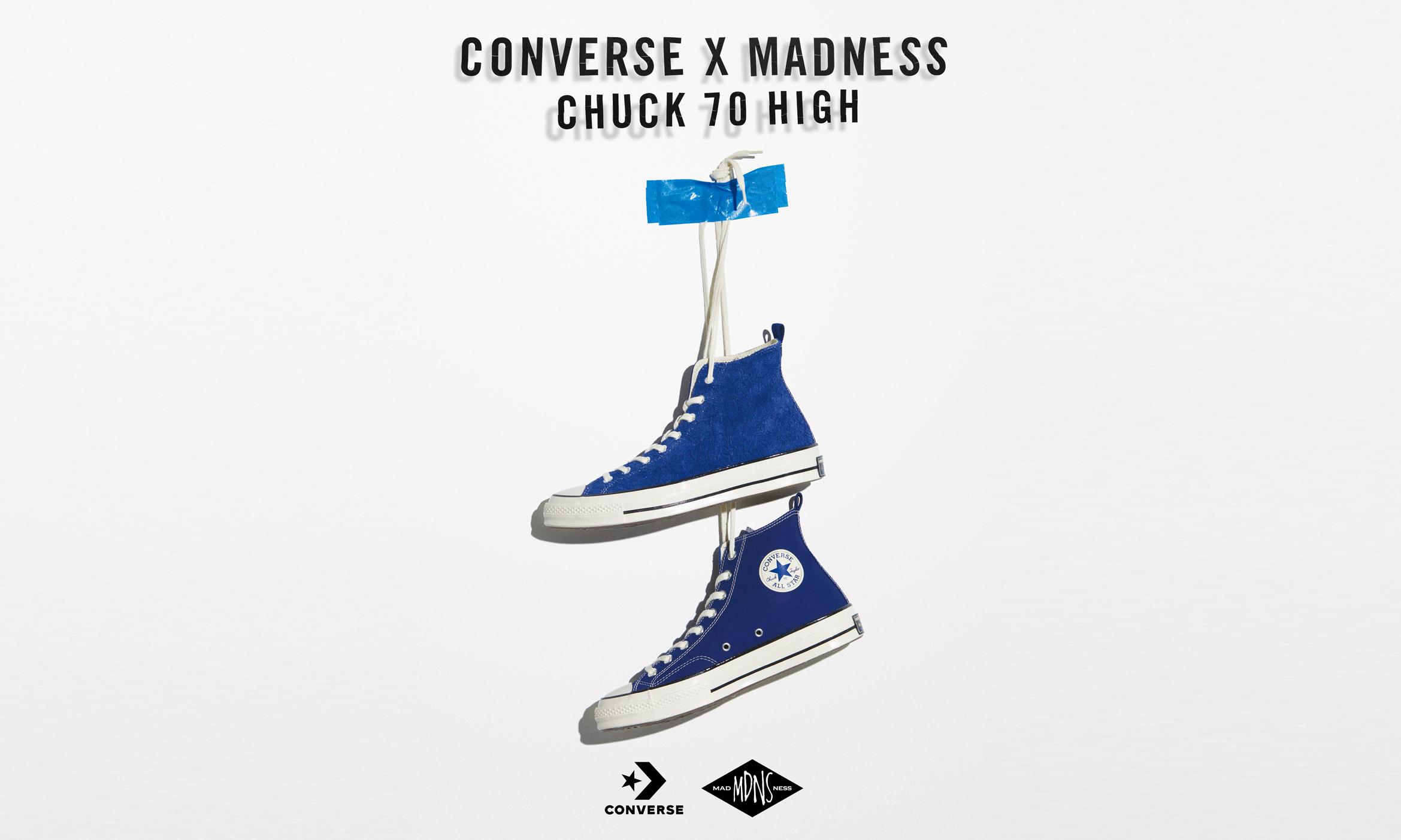 #真的有故事,MADNESS x CONVERSE Chuck 70 入手机会又来了