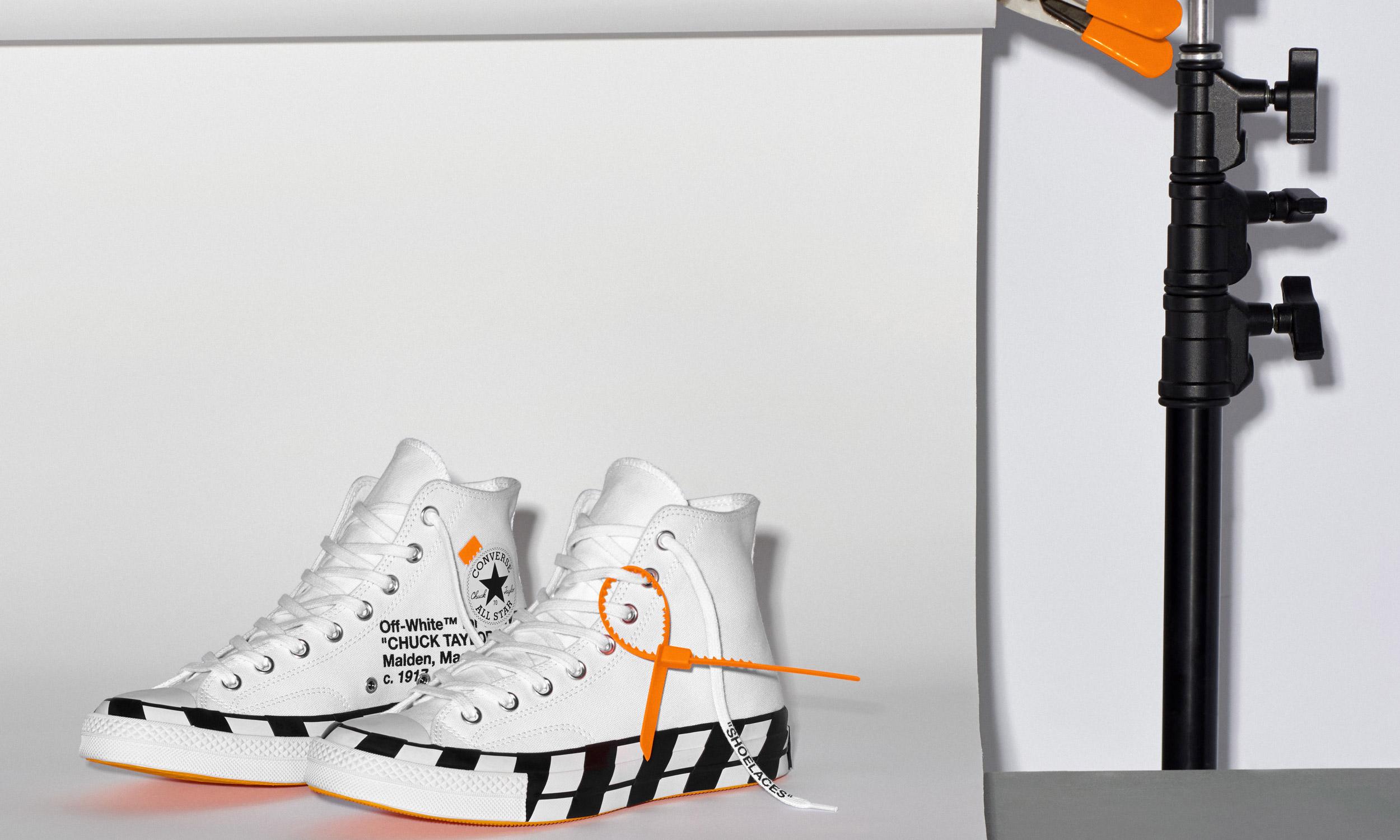 重塑经典,Off-White™ x CONVERSE Chuck 70 即将登场