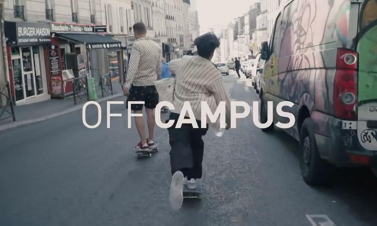 Blondey McCoy 演绎 adidas Skateboarding 广告大片《Off Campus》