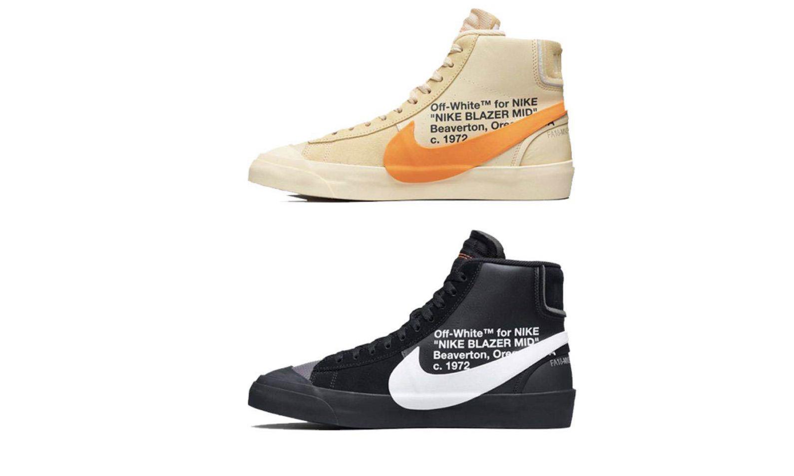 "Virgil Abloh x NikeLab Blazer Mid ""Spooky Pack"" 将在明天开启抽签"