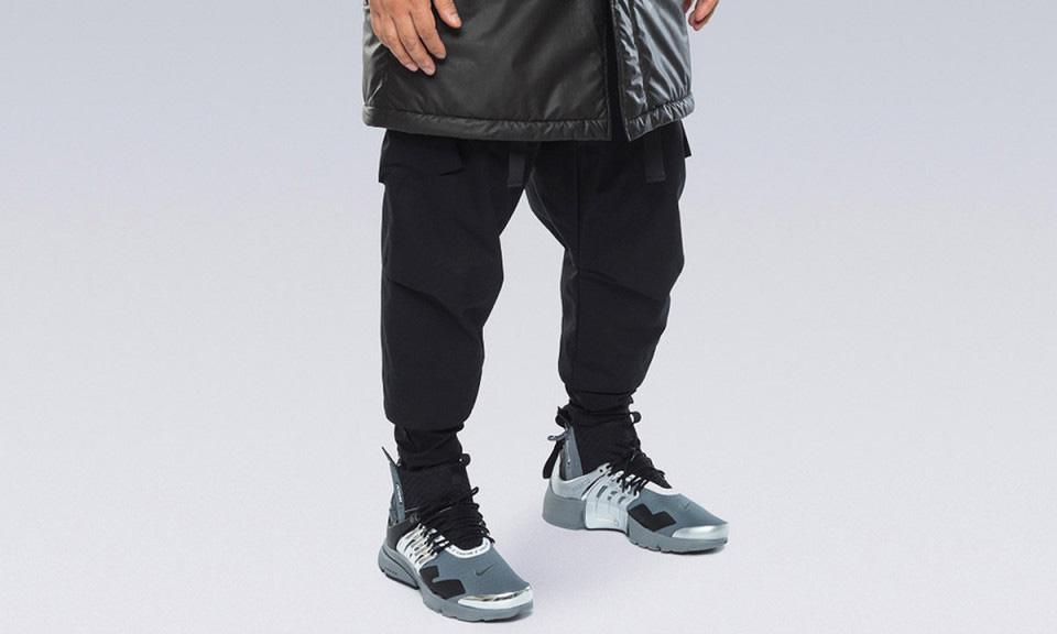 Errolson Hugh 曝光 ACRONYM x Nike Air Presto Mid 全新铬合金配色