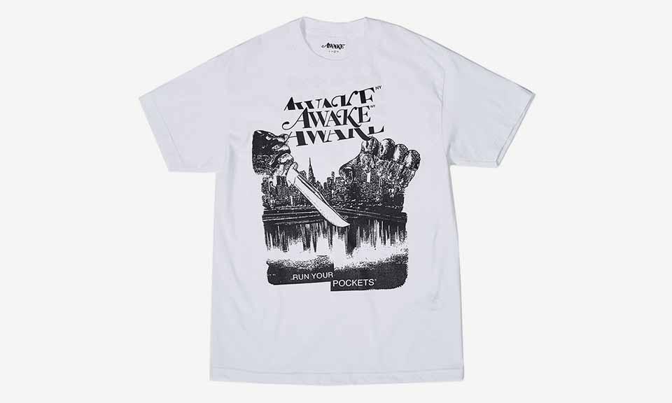 Awake NY 联手 Procell 打造万圣节 T-Shirt