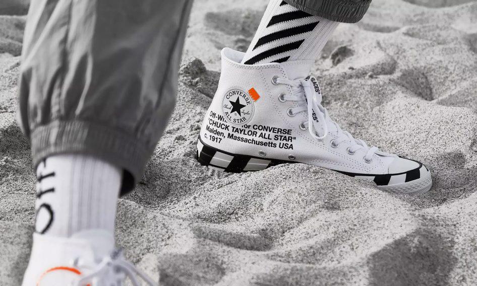 新款 Off-White™ x CONVERSE 只要 3 千多元就能入手了