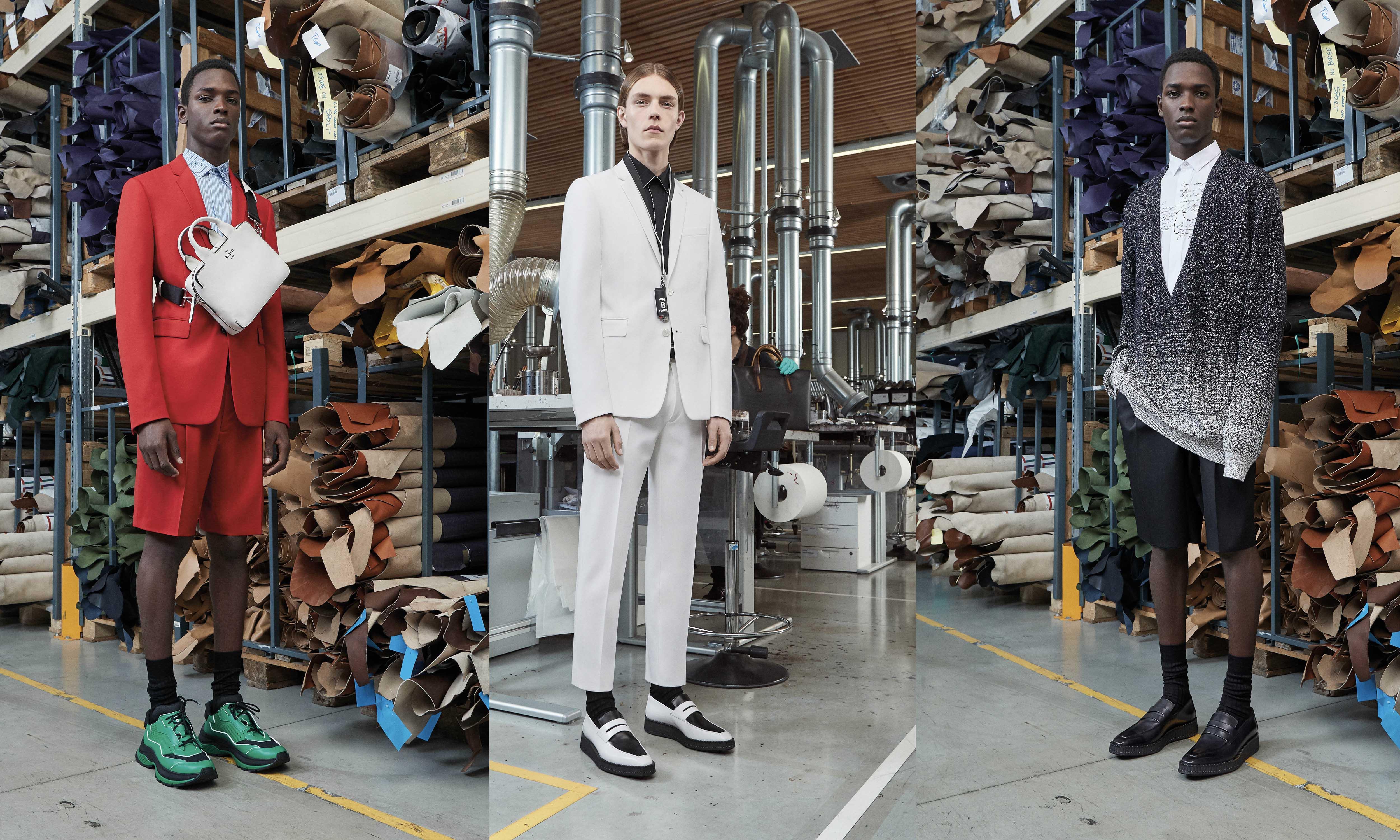 Kris Van Assche 呈现 Berluti 2019 早春系列