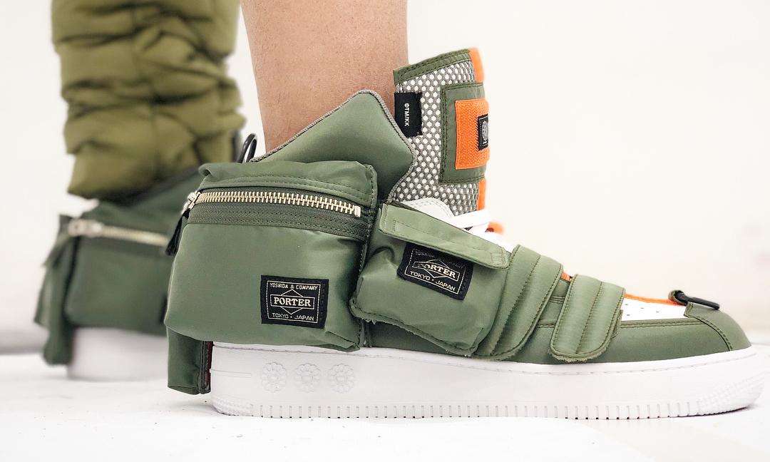 村上隆曝光自己的全新球鞋设计,还是与 PORTER 的合作