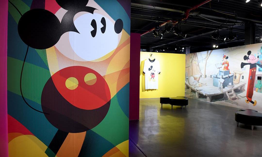 走进纽约《Mickey: The True Original》展览现场
