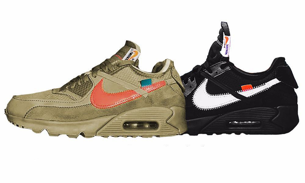 明年再见,Virgil Abloh x Nike 联名 Air Max 90 发售信息流出