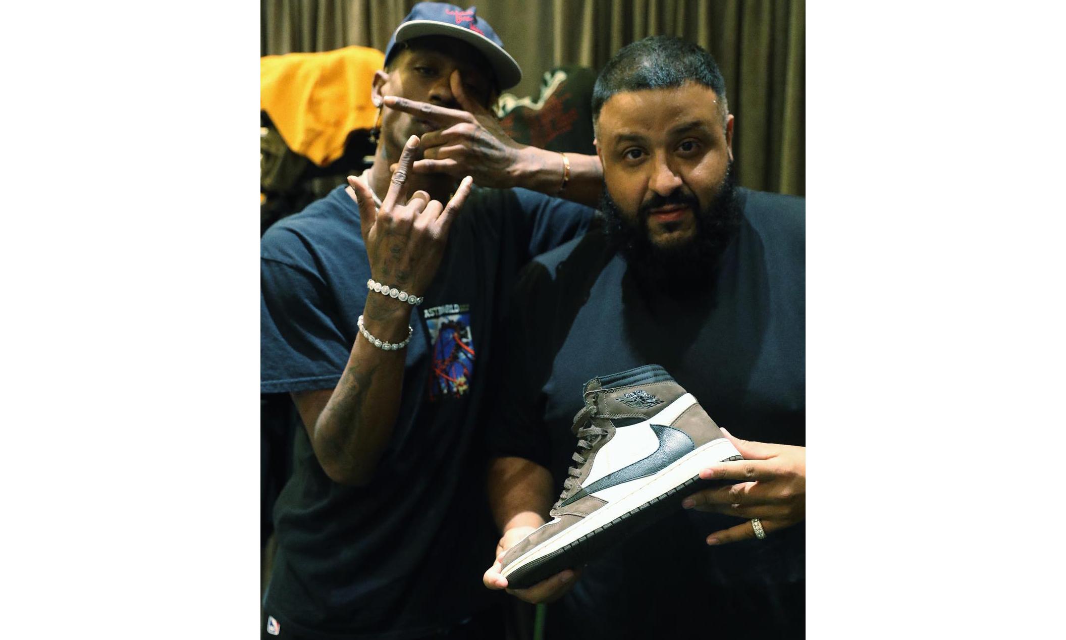 DJ Khaled 首曝 Travis Scott x Air Jordan I 清晰实物照