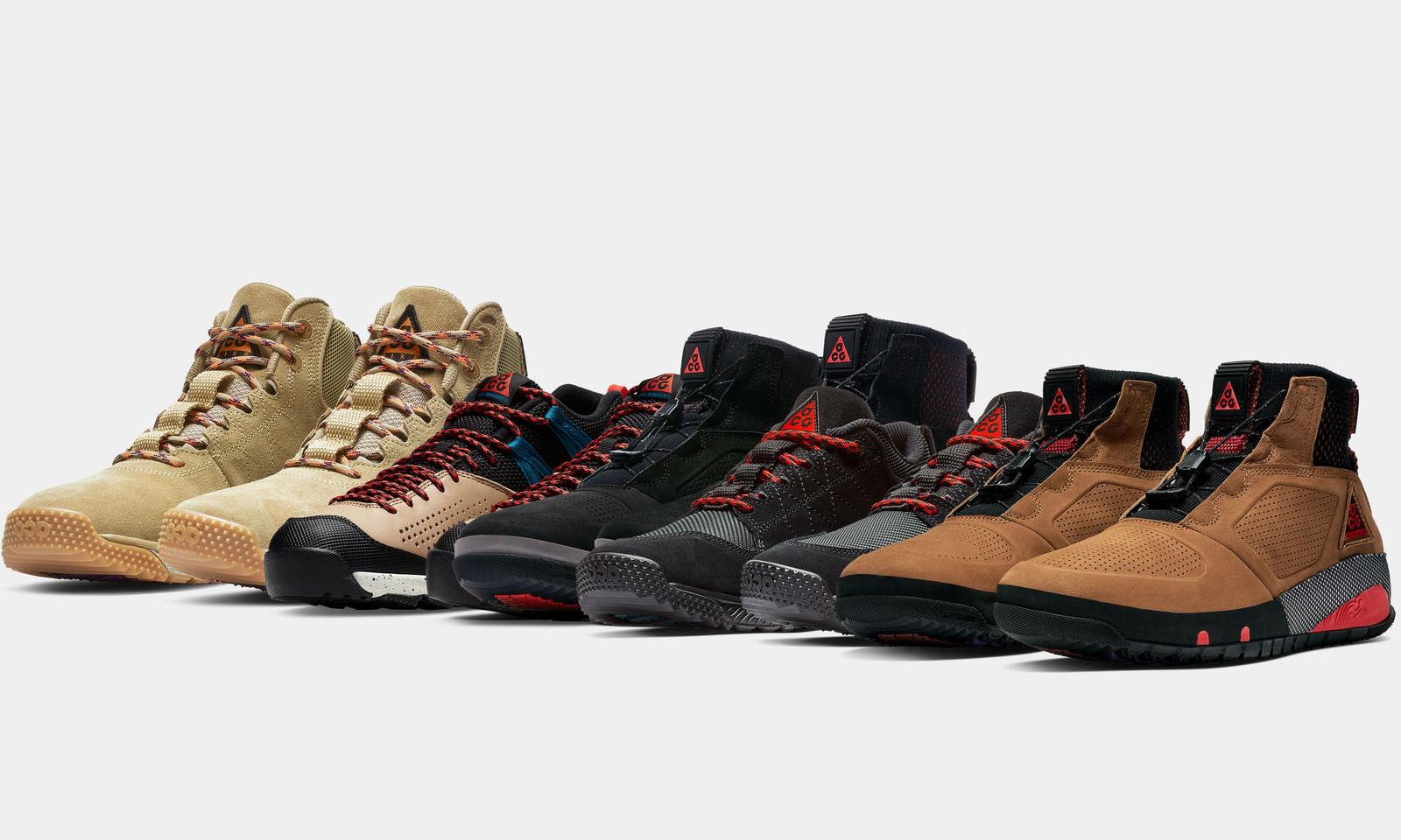 抢先预览 Nike ACG 2018 假日系列发售鞋款