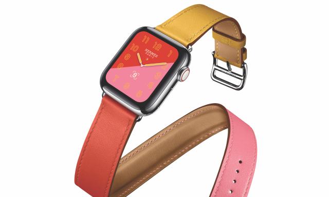 Hermès 为 Apple Watch Series 4 带来全新表带