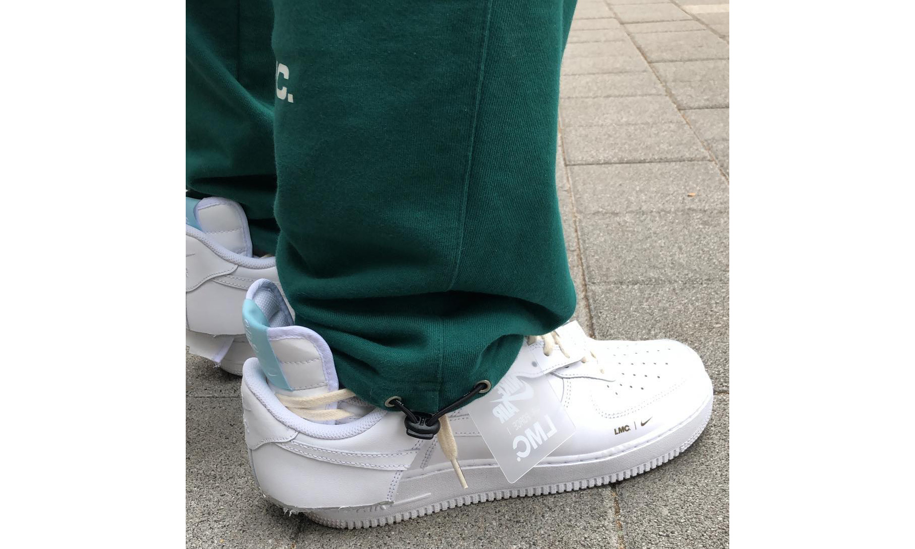 LMC 发布全新解构 Nike Air Force 1