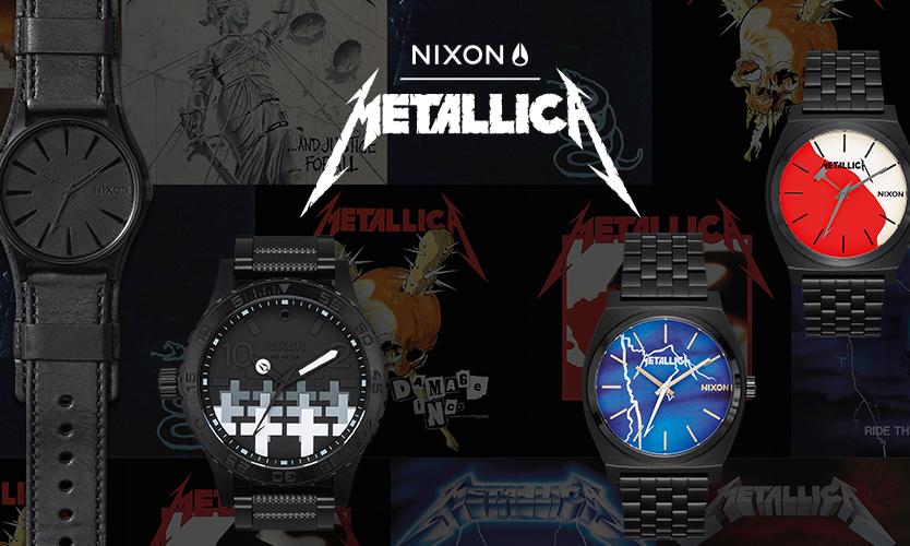 NIXON x Metallica 推出限量联名表款