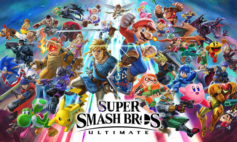 Nintendo 人气大作《Super Smash Bros. Ultimate》预告片释出