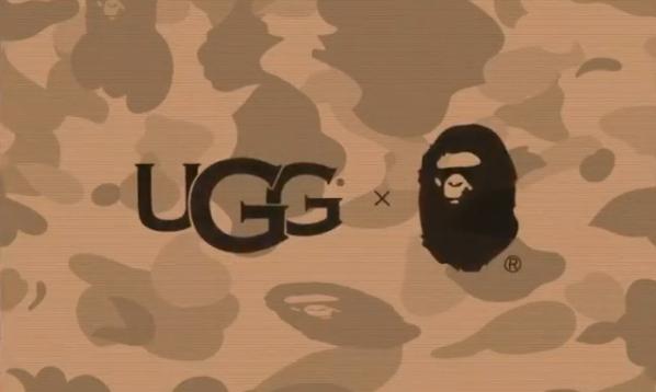 A BATHING APE® x UGG 联名系列将于明年正式登场