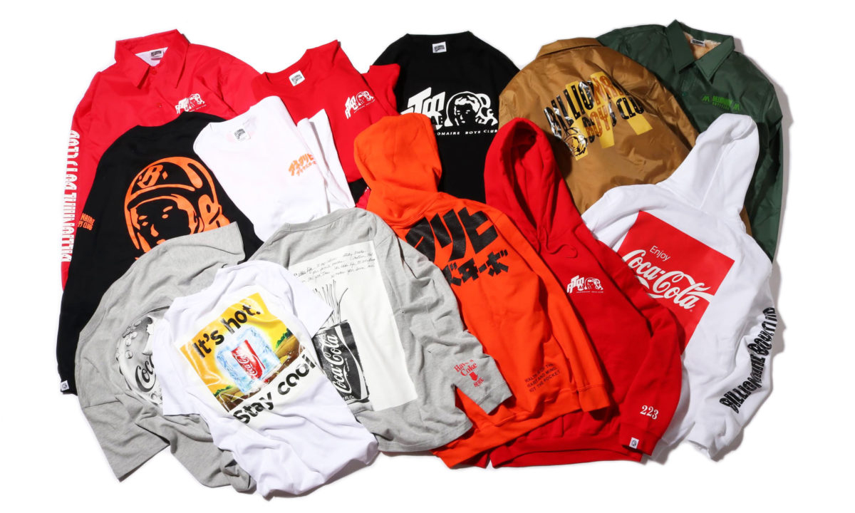atmos LAB x Billionaire Boys Club x Coca-Cola 推出联名系列