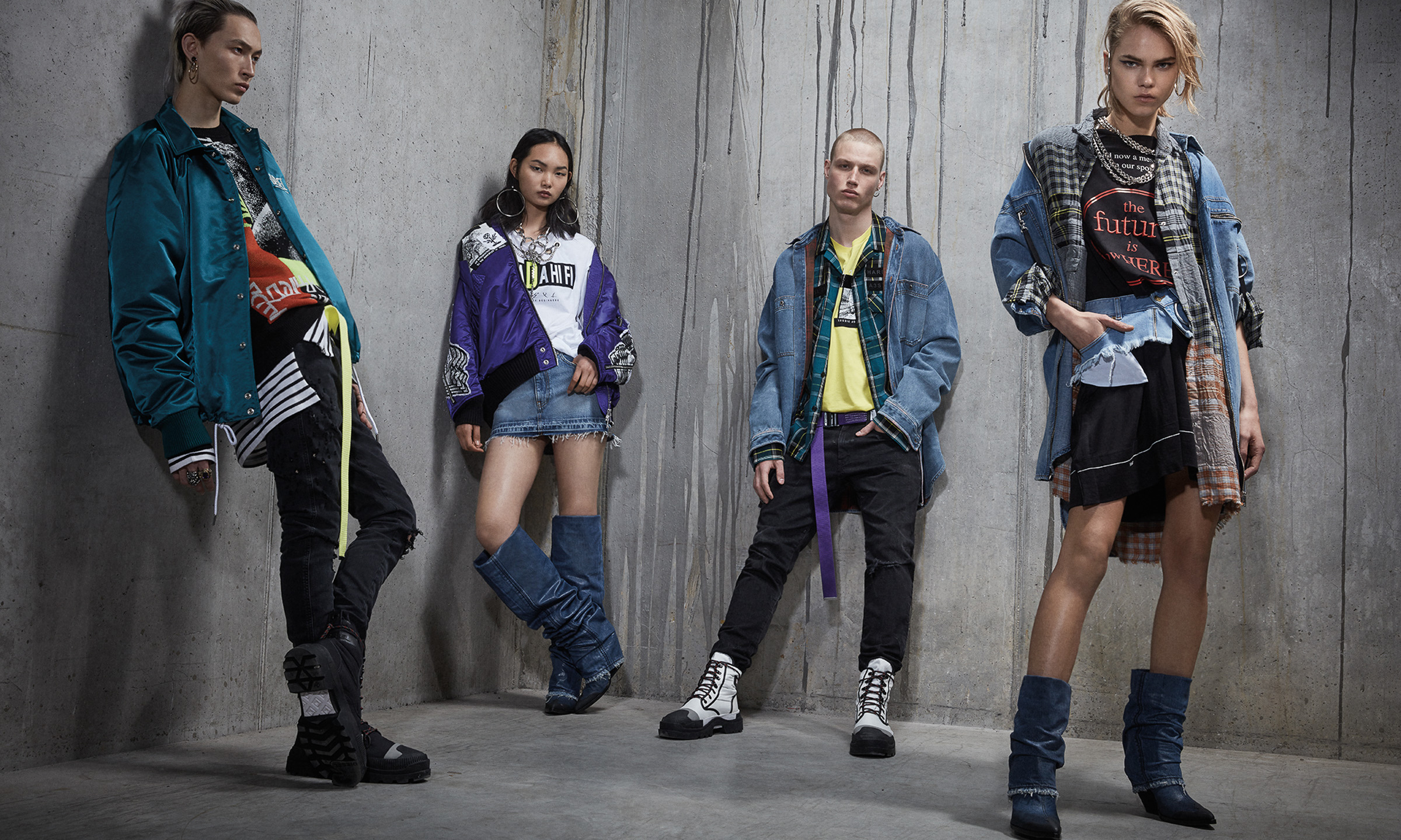 DIESEL 释出 2019 春夏系列造型 Lookbook