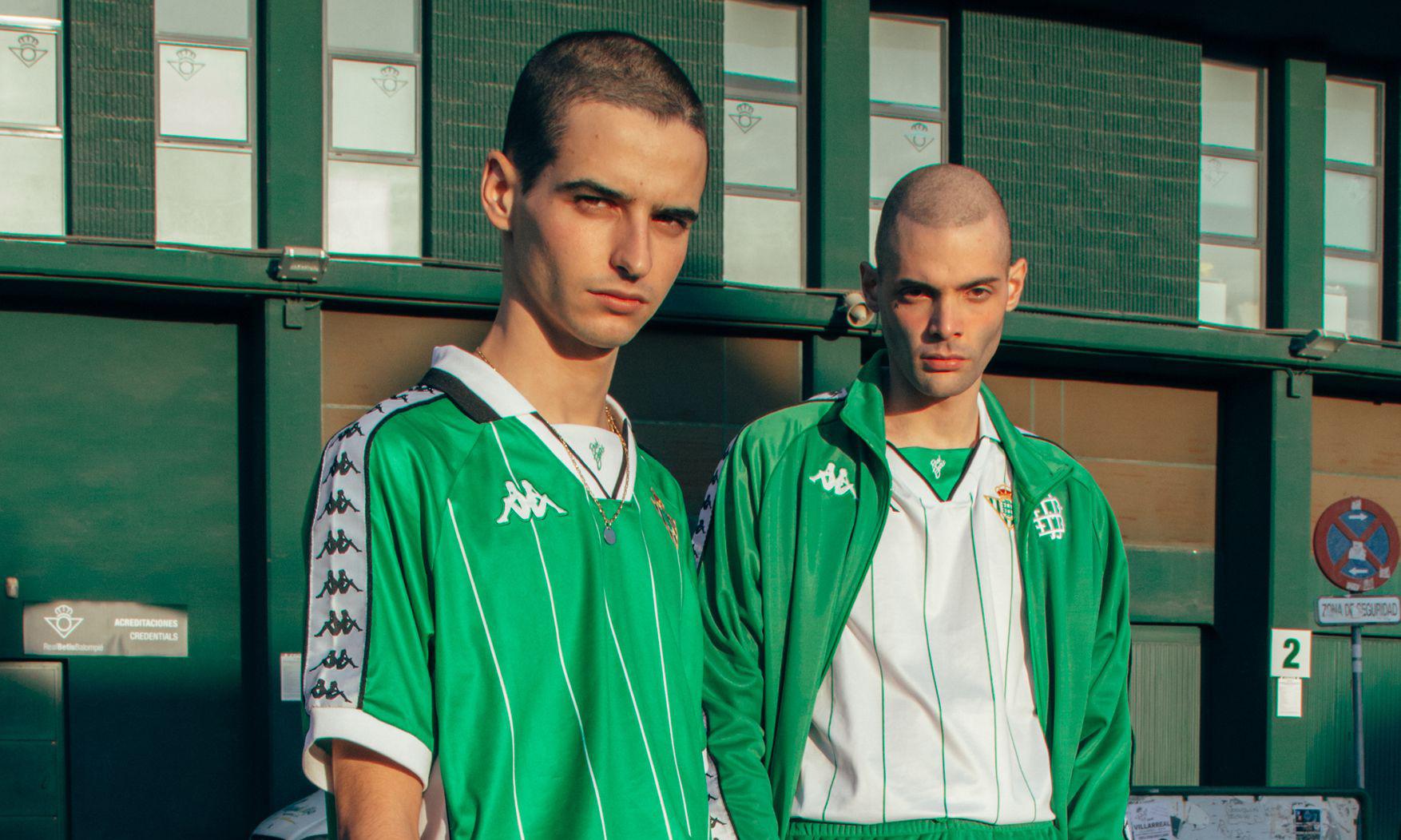 Kappa 为皇家贝蒂斯推出复古足球系列