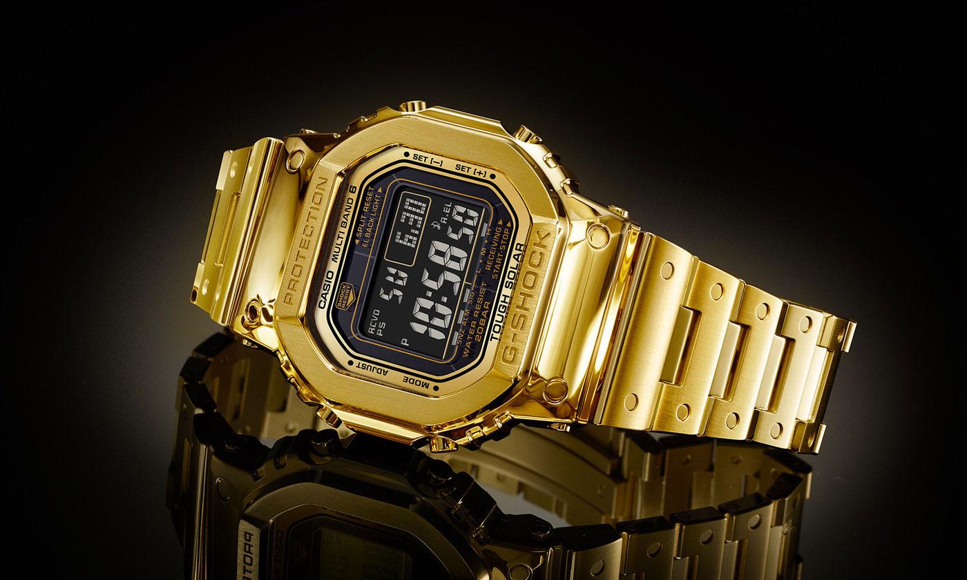"超奢华,G-SHOCK 将推出 18K 纯金 ""Dream Project"" DW-5000"