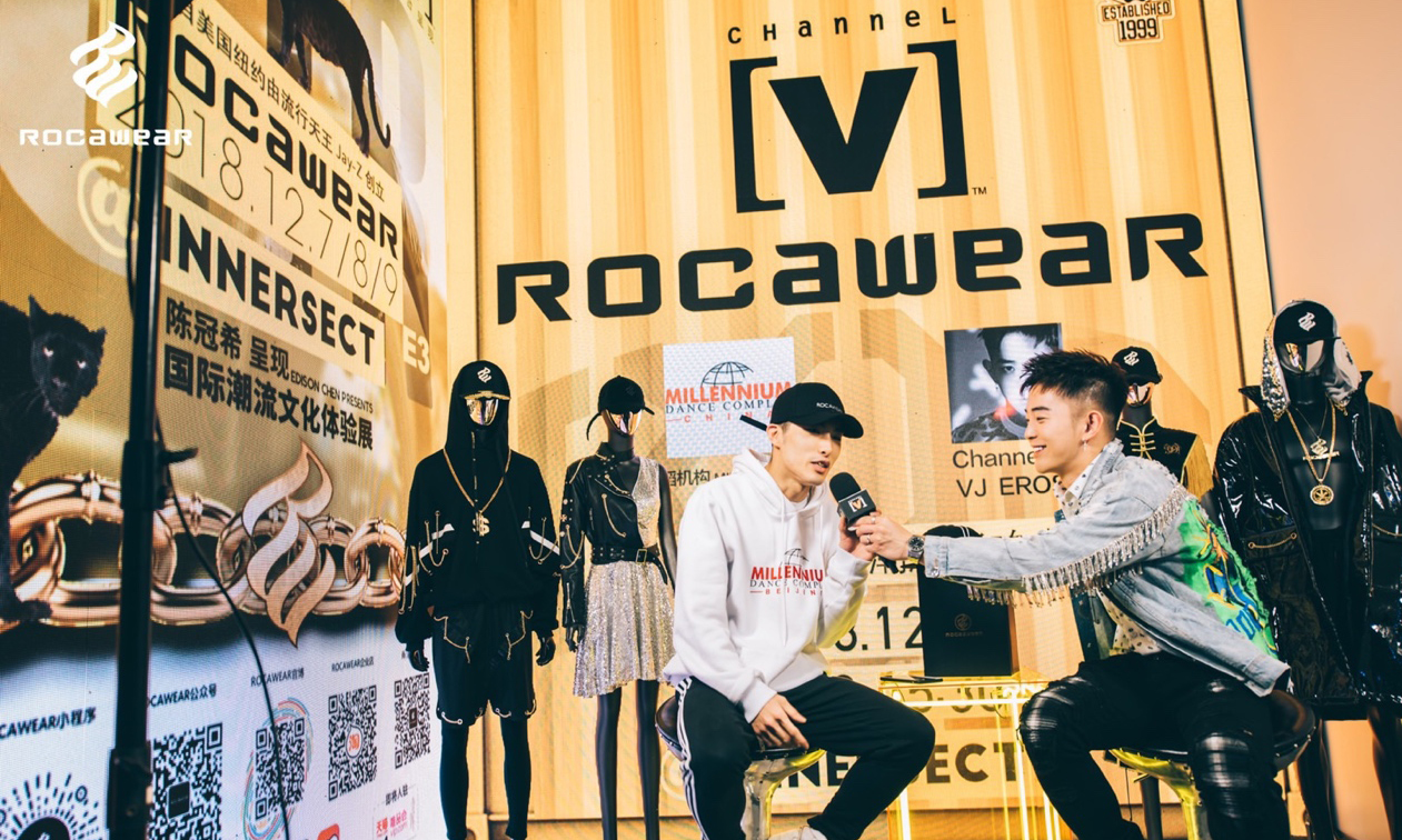 ROCAWEAR 联手 Channel V 再次入驻 INNERSECT