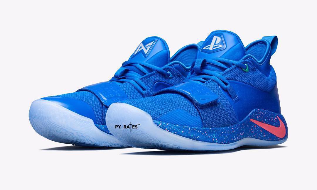 PlayStation x Nike PG 2.5 蓝色版本曝光