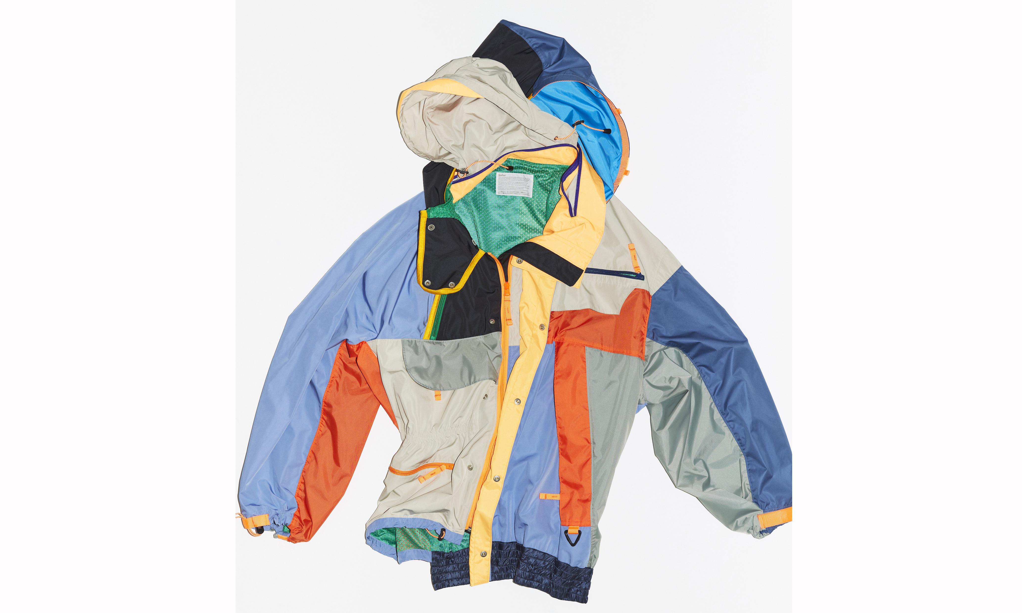 kolor 发布限量不对称运动服系列