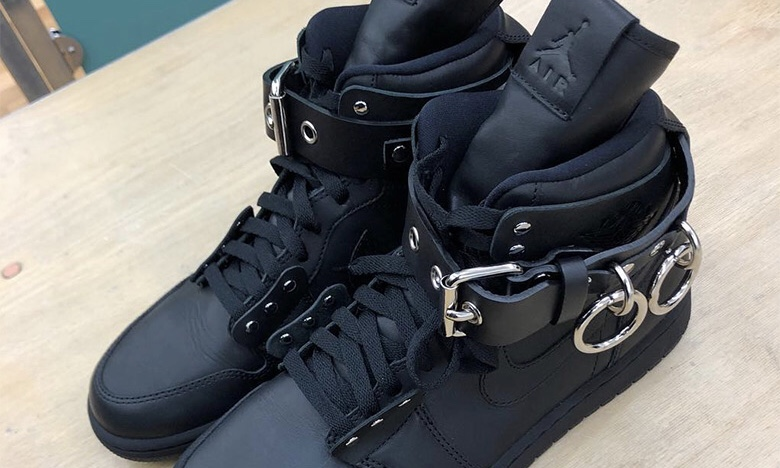 COMME des GARÇONS x Air Jordan I 联名鞋款细节图曝光