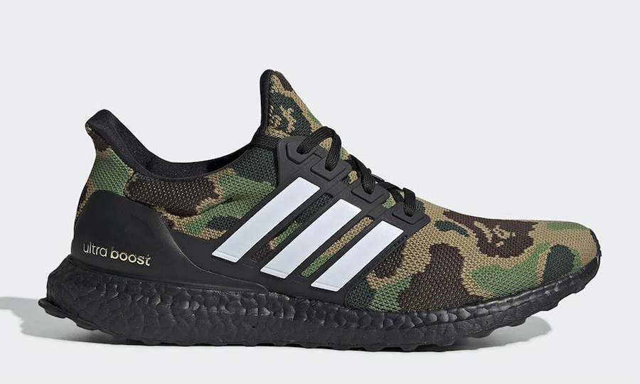A BATHING APE® x adidas 联名 Ultra Boost 官方图释出
