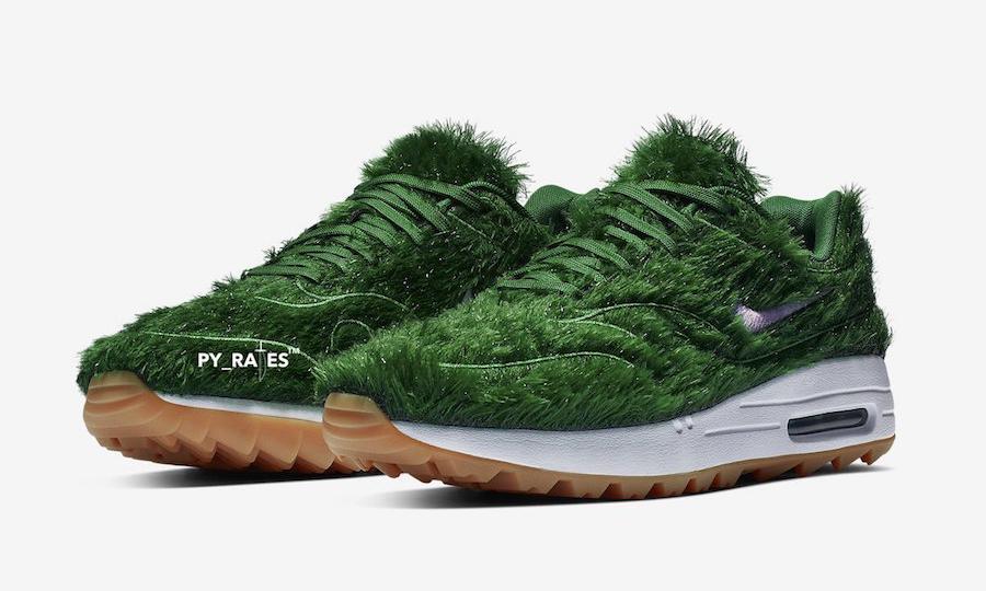 "将草坪 ""穿"" 上脚,Nike Air Max 1 ""Grass"" 配色预览"