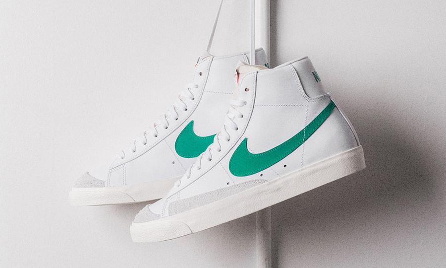 """Nike Blazer Mid '77 Vintage """"Lucid Green"""" 即将正式发售"""