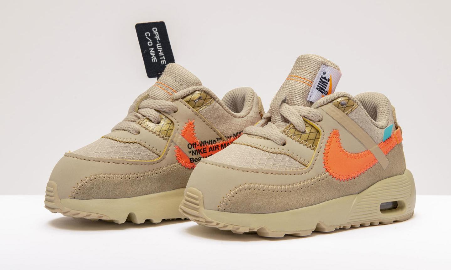 """抓住可爱的尾巴,抢先预览 """"THE TEN"""" Nike Air Max 90 童鞋"""