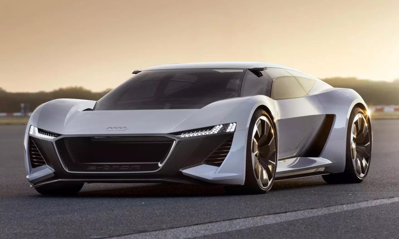 未来猛兽,奥迪纯电动超跑 PB18 E-tron 即将量产