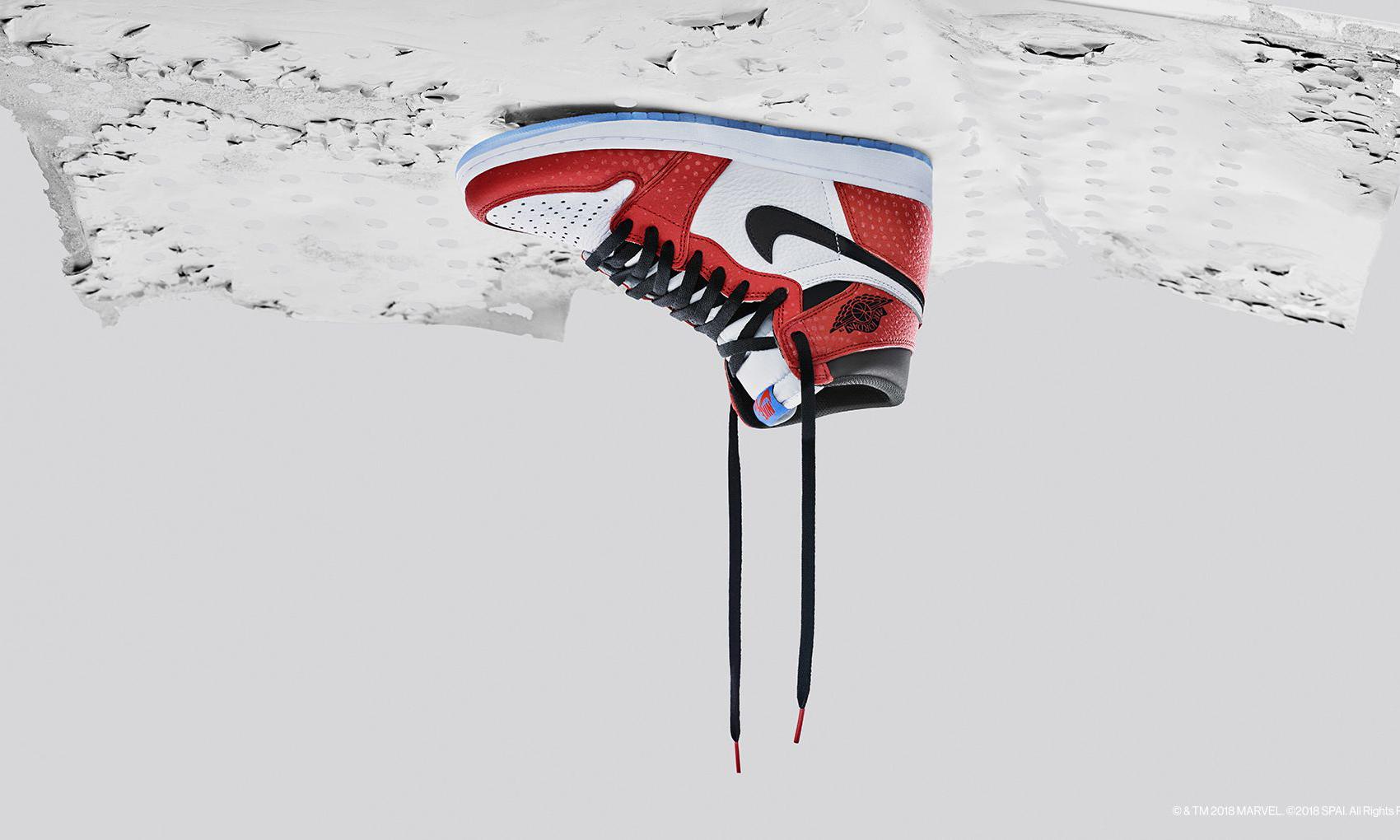 "Air Jordan I ""蜘蛛侠"" 炒到 3 千多块,合理吗?"