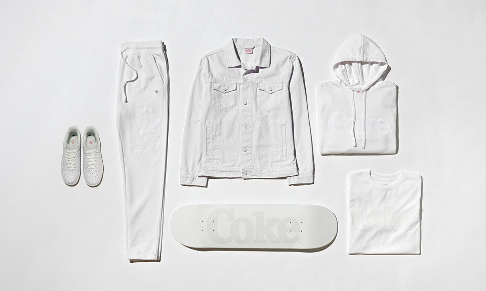 "Diamond Supply Co. x Coca-Cola 联名系列 ""Coke White"" 即将发售"