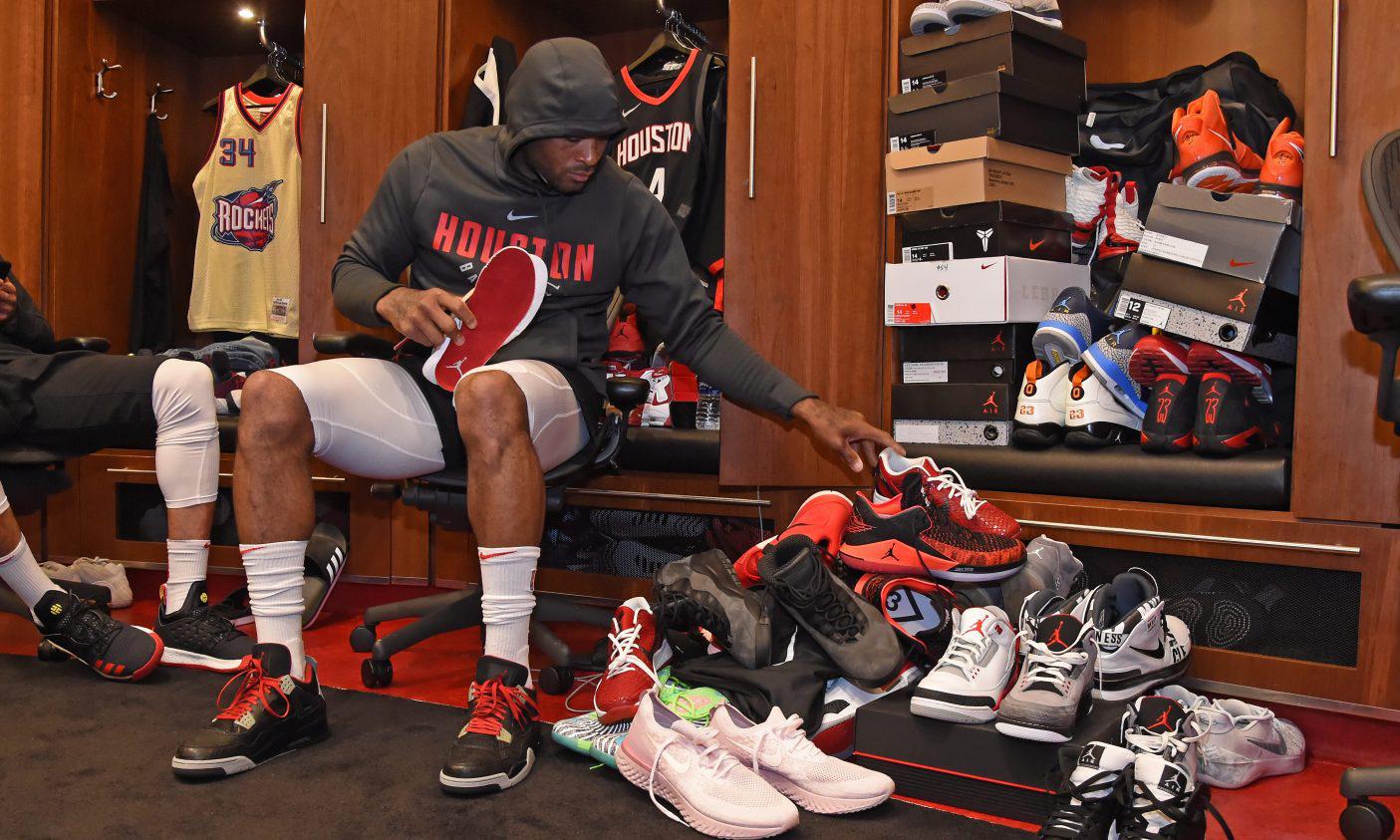 NBA 赛季过半,PJ Tucker 已上身 10 万美金以上市值的球鞋