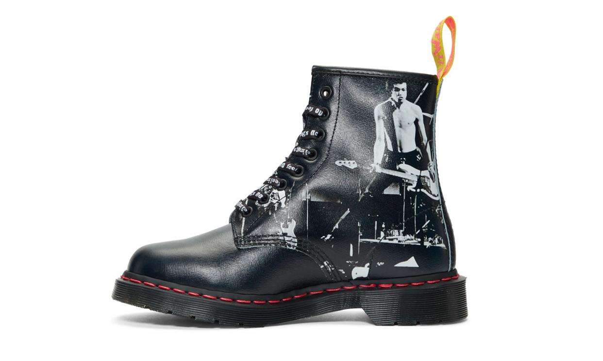 Sex Pistols  x Dr. Martens 推出联名系列鞋款