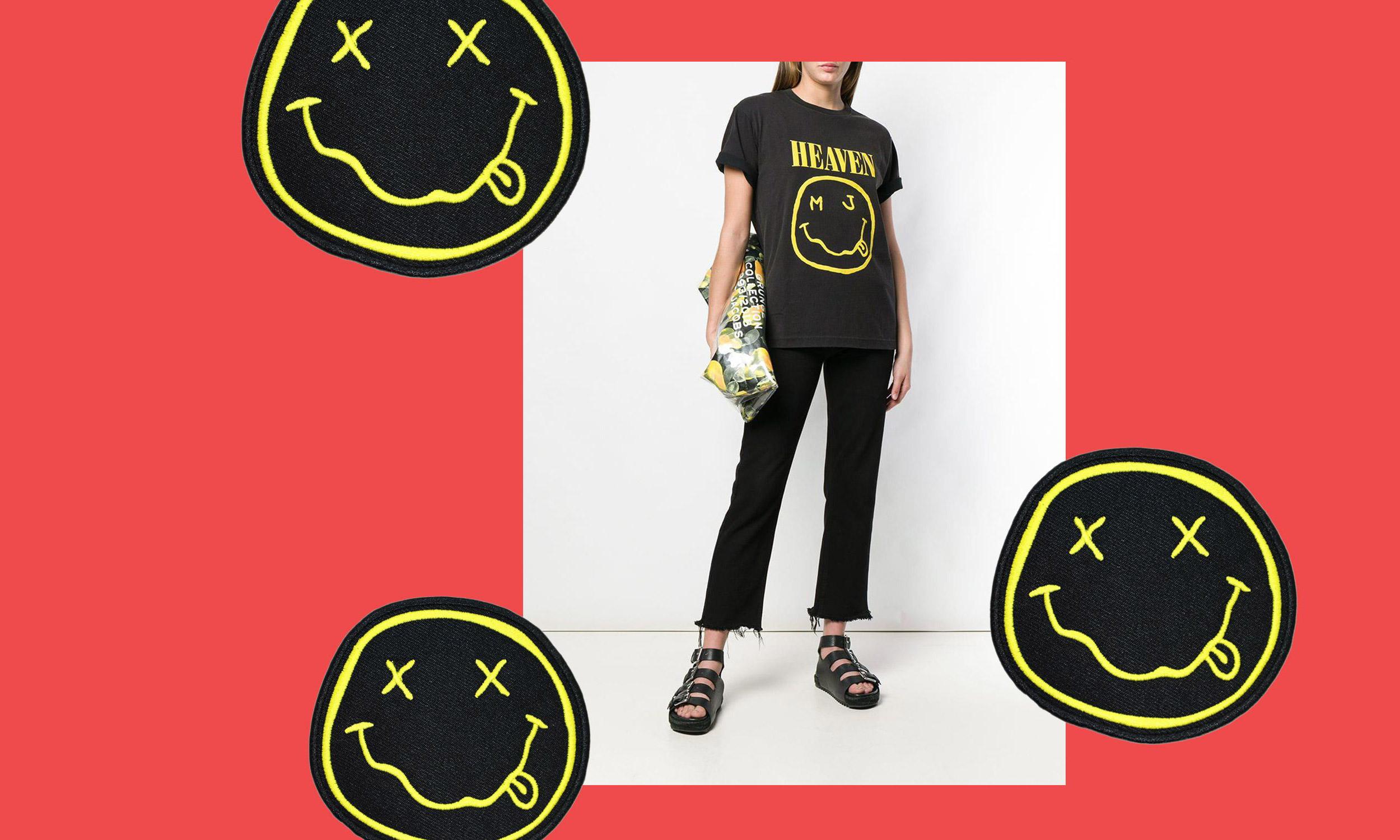 经典 logo 照搬?Nirvana 起诉 Marc Jacobs 要求停止侵权行为