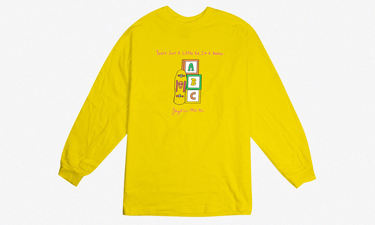 Jonah Hill 携手 Illegal Civilization 推出《Mid90s》周边 T 恤