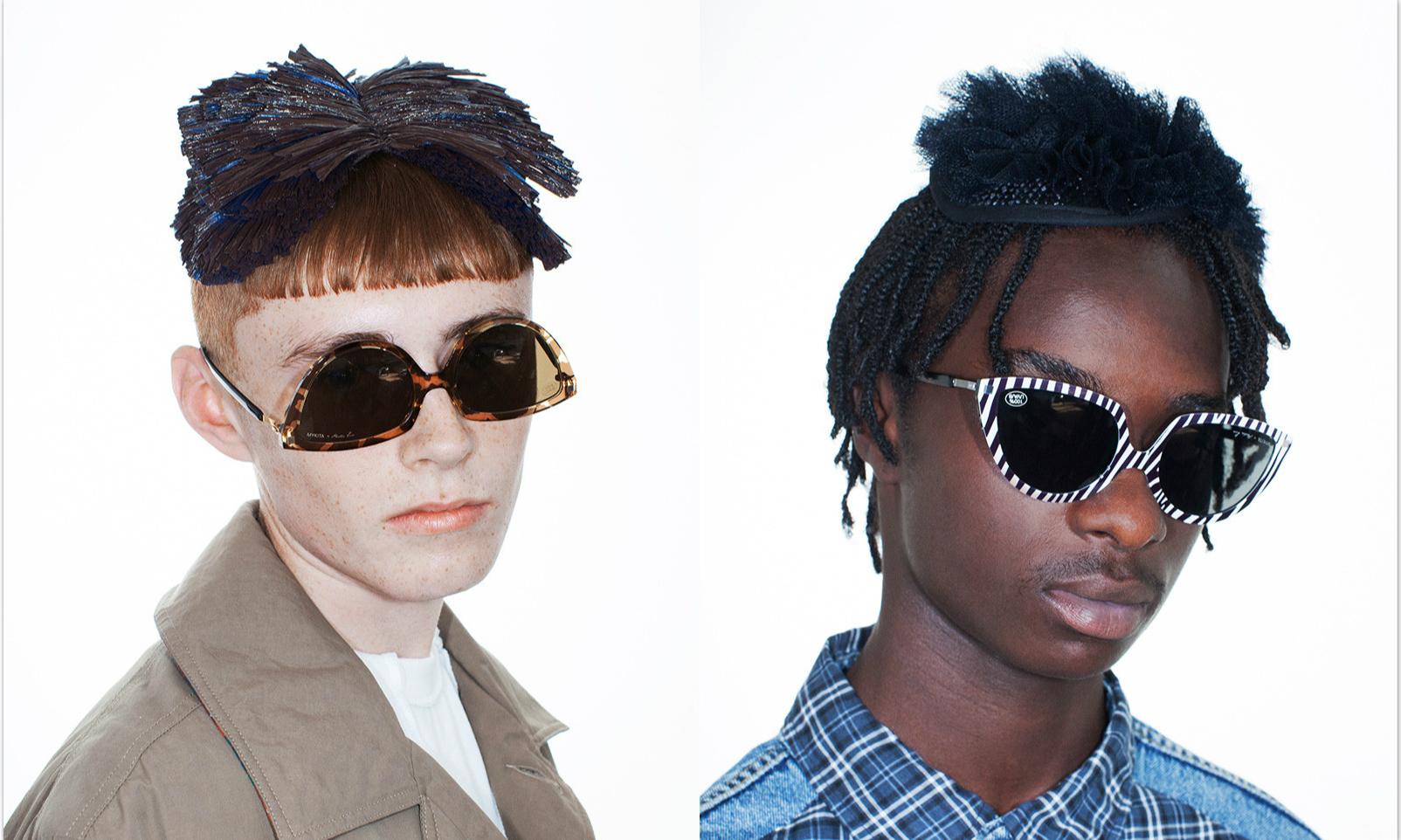 倒着戴的眼镜?Martine Rose x MYKITA 全新联名墨镜即将发售